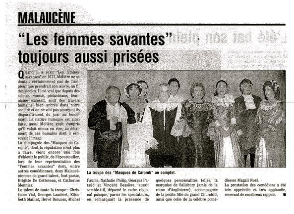 Apparition dans la presse - Le journal le vaucluse ...
